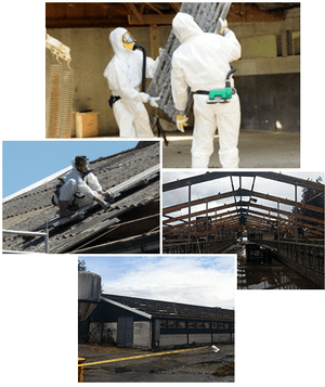 Asbestvanhetdak - Asbestsanering